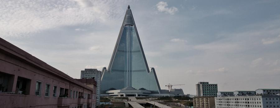Das Ryugyong Hotel: Ein eindrückliches Wahrzeichen in Pjöngjang