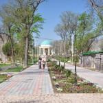 Neuer Park in Khujand