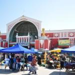 Khujand - Pandschschambe-Markt