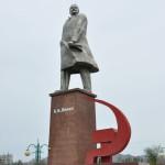 Lenin in Khujand